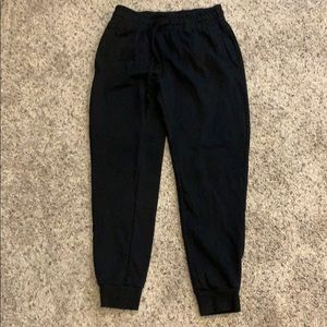 H&M black joggers Small